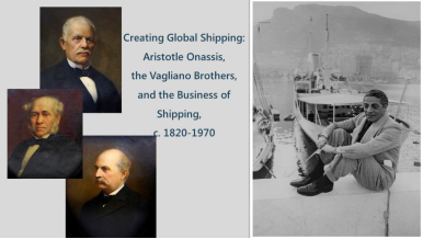 Book Launch : Creating Global Shipping by Gelina Harlaftis, Professor at the University of Crete and Director of the Institute for Mediterranean Studies -FORTH