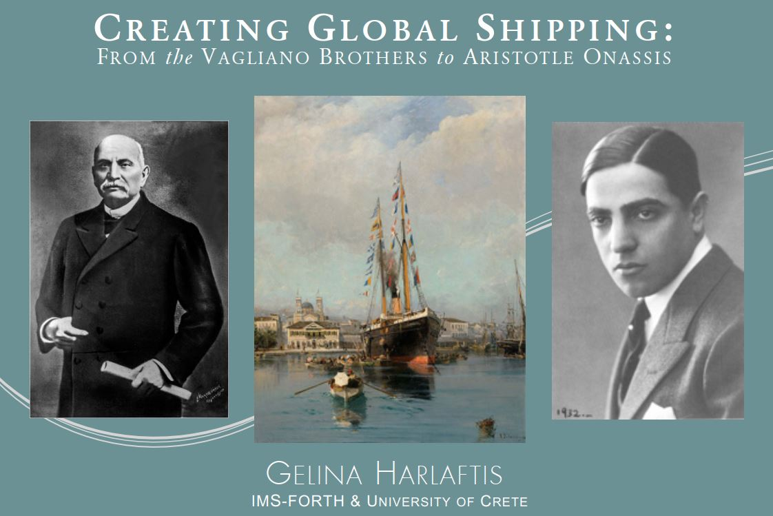 Creating Global Shipping: From the Vagliano Brothers to Aristotle Onassis